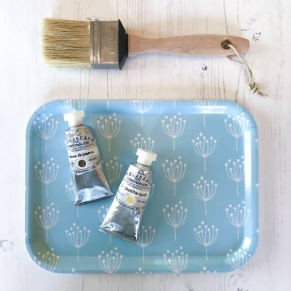 Spisebrett KJEKS - blå